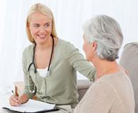 Cuidado de ancianos con Alzheimer